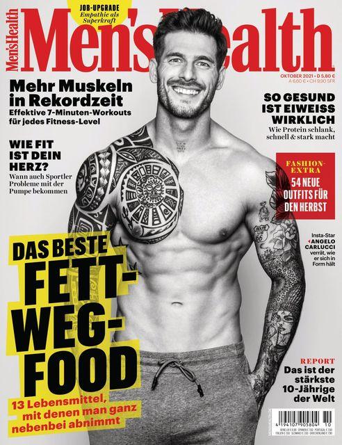 MEN'S HEALTH Ausgabe 10/2021
