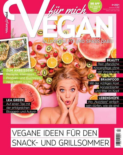 Vegan für mich Magazin Ausgabe 04/2021
