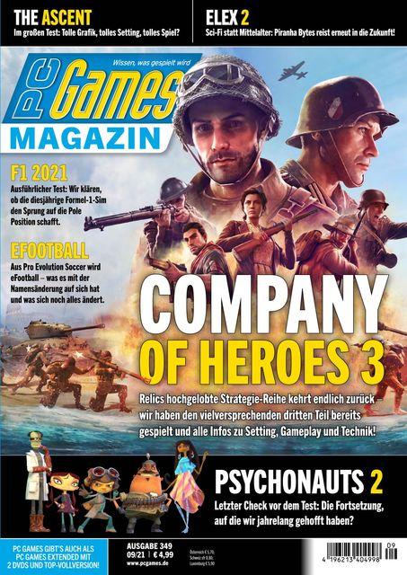 PC Games Ausgabe 09/2021