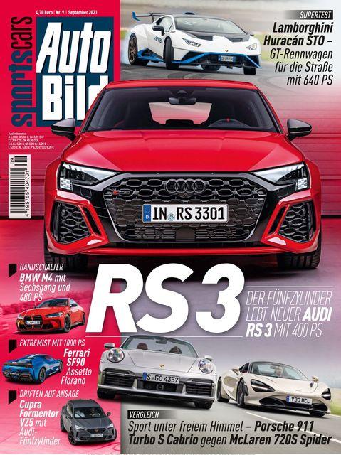 AUTO BILD Sportscars Ausgabe 09/2021