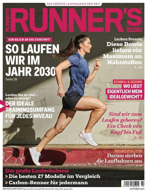 RUNNER'S WORLD Ausgabe 10/2021