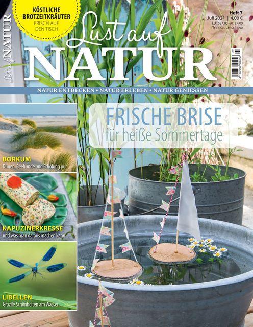 Lust auf Natur Ausgabe 07/2021