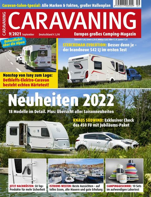 Caravaning Ausgabe 09/2021