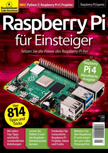 Raspberry Pi - Der Guide für Einsteiger Ausgabe 01/2020
