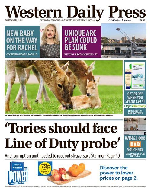 Western Daily Press 2021-04-15