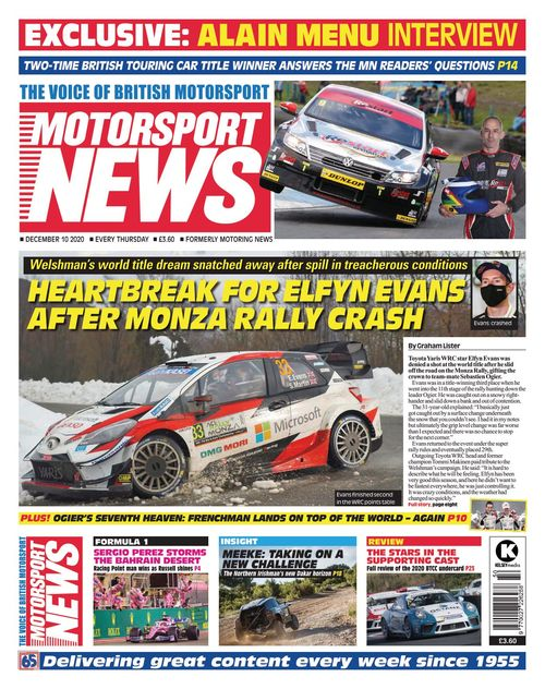 Motorsport News 2020-12-10