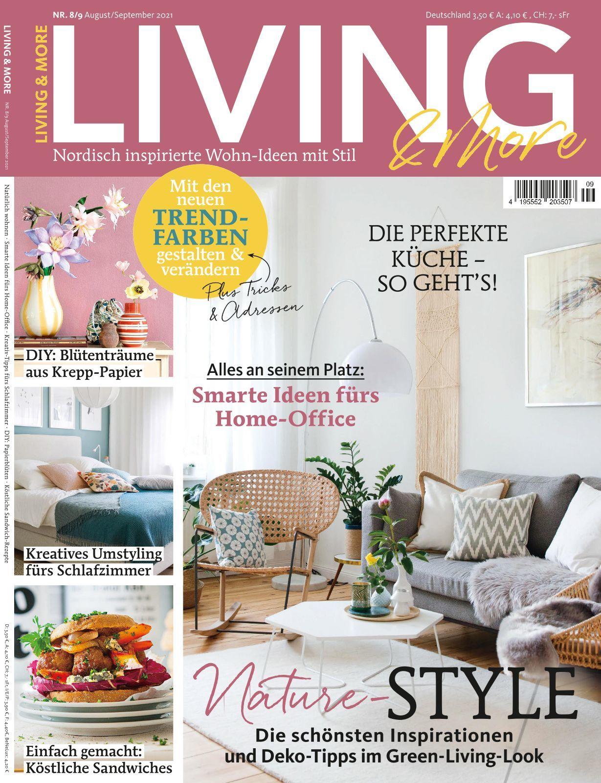 Living & More   Ausgabe living/  more