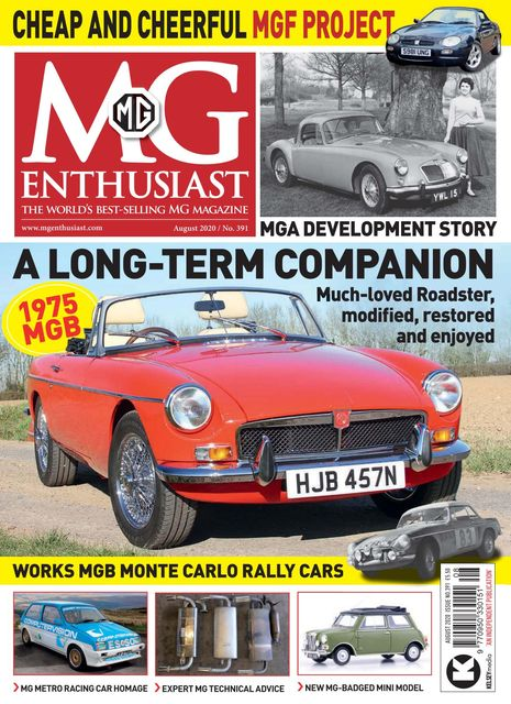 MG Enthusiast issue 08/2020
