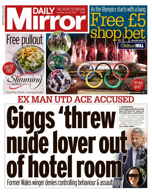 Daily Mirror 2021-07-24