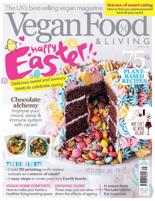 Vegan Food & Living issue 03/2021 - Easter Special