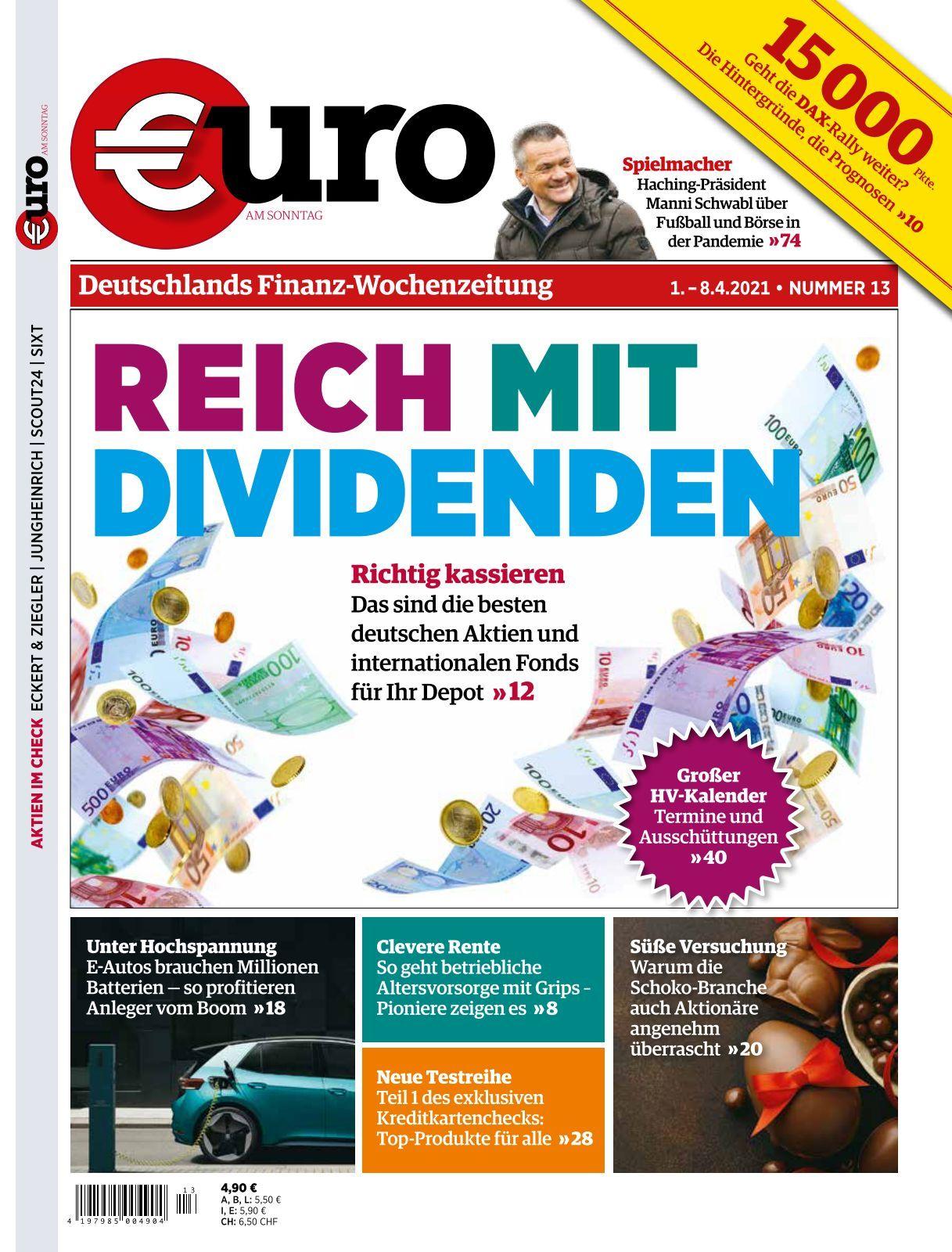 Euro am Sonntag   Ausgabe 21/21