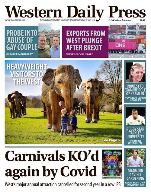 Western Daily Press 2021-03-31