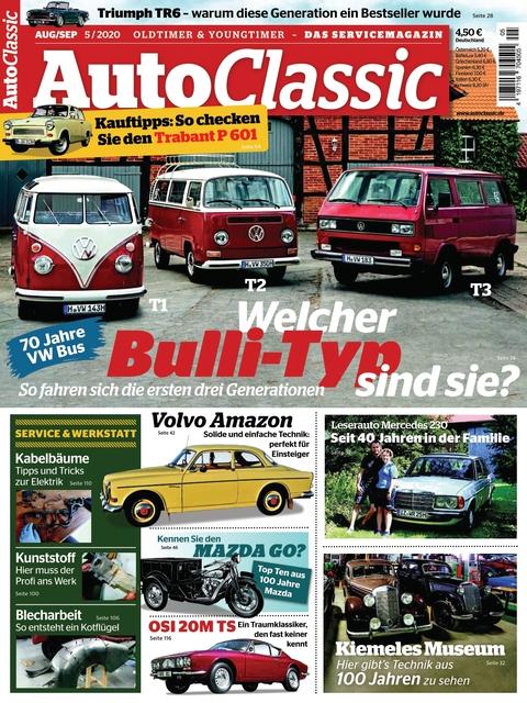 Auto Classic Ausgabe 05/2020