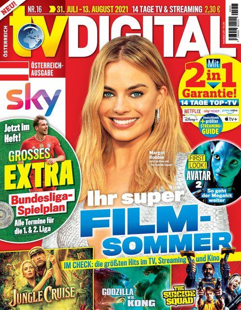 TV Digital Österreich 2021-07-23