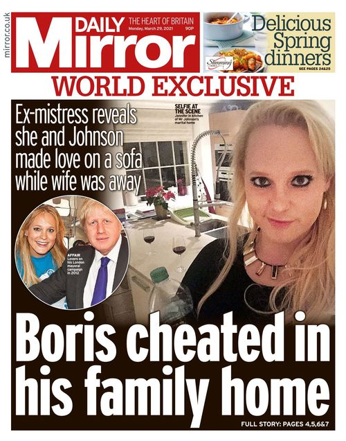 Daily Mirror 2021-03-29
