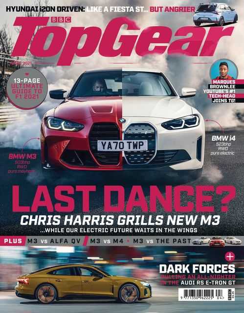 BBC Top Gear Magazine issue 04/2021