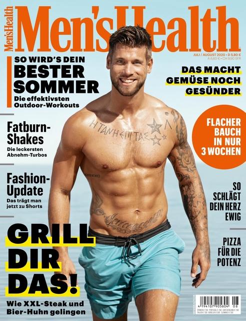 MEN'S HEALTH Ausgabe 07-08/2020