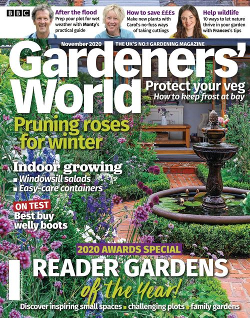 BBC Gardeners' World issue 11/2020