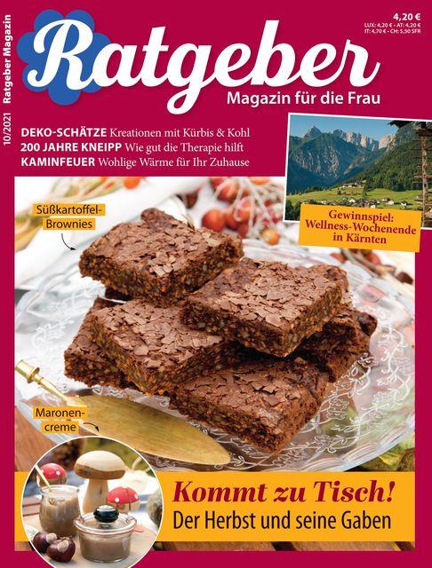 RATGEBER Magazin Ausgabe 10/2021