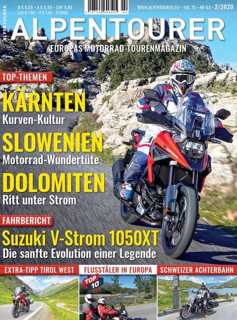 ALPENTOURER – Europas Motorrad-Tourenmagazin Ausgabe 02/2020