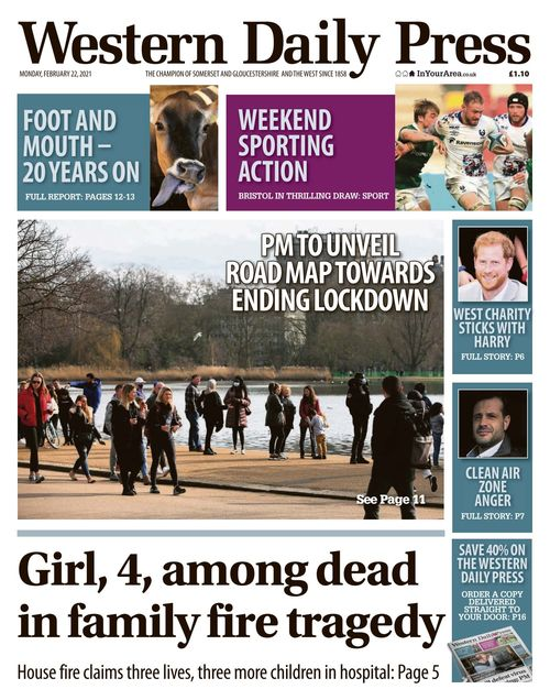 Western Daily Press 2021-02-22