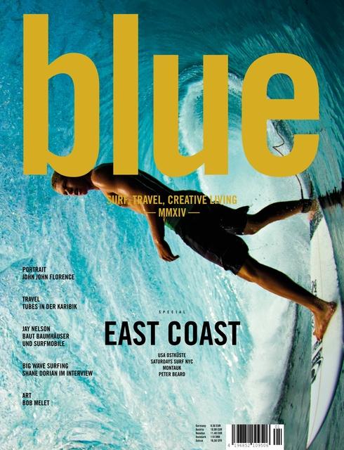 BLUE Magazine – Surf, Travel & Creative Living Ausgabe 2014