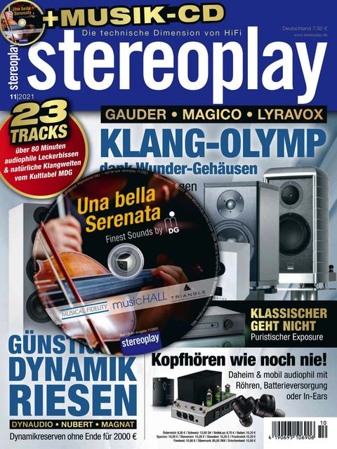 stereoplay Ausgabe 11/2021