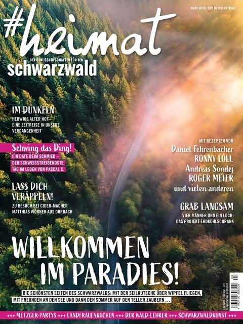 #heimat - der Genussbotschafter für den Schwarzwald Ausgabe 04/2020