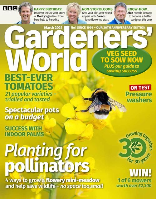 BBC Gardeners' World issue 03/2021