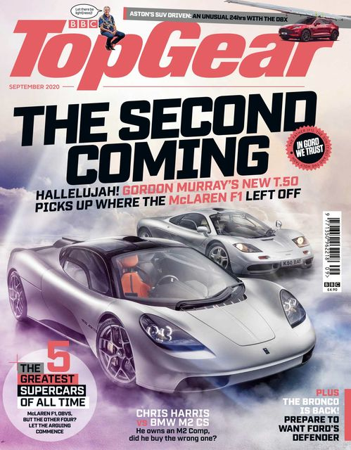 BBC Top Gear Magazine issue 09/2020
