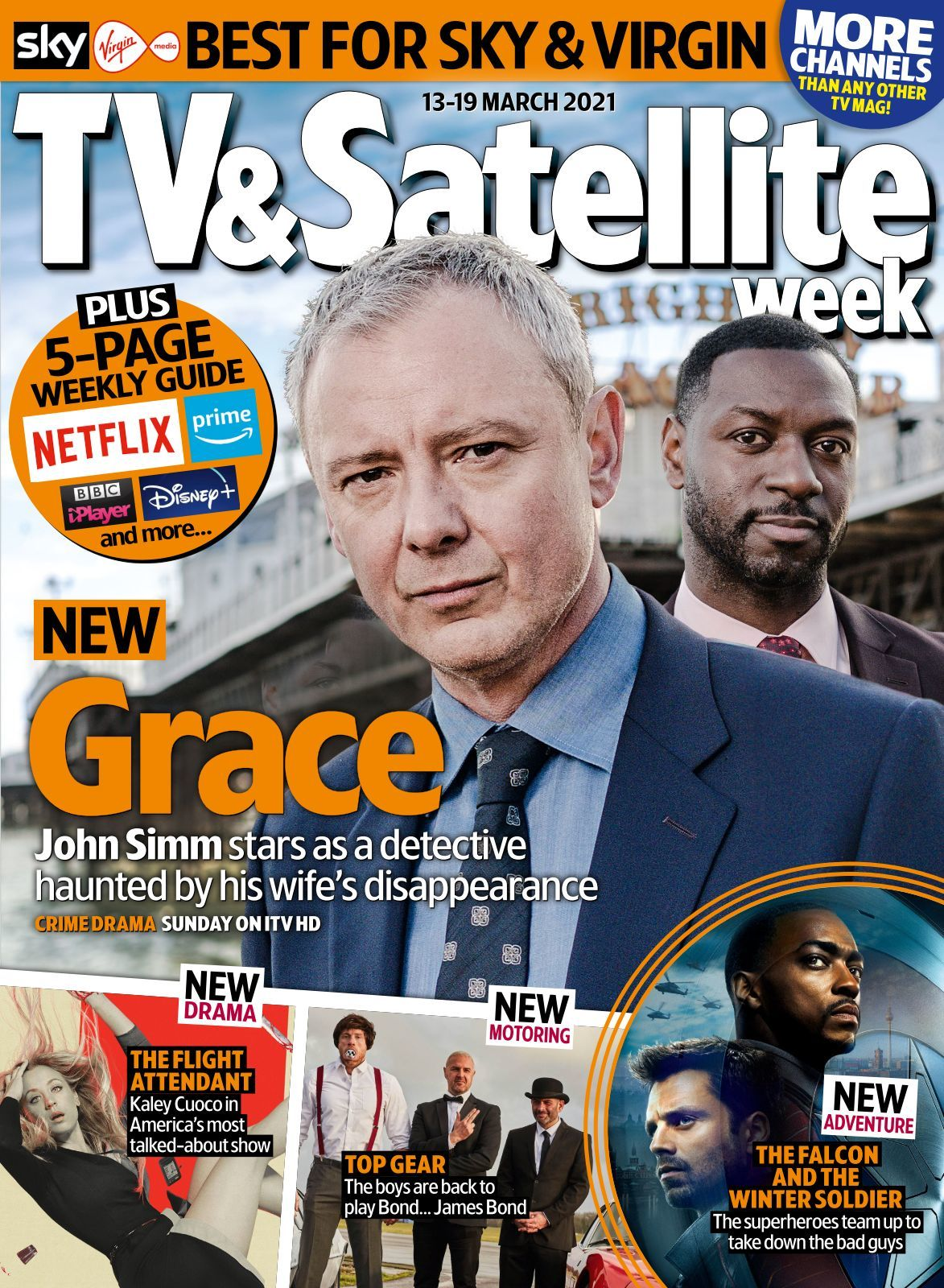 TV & Satellite Week Magazine   10 10 10