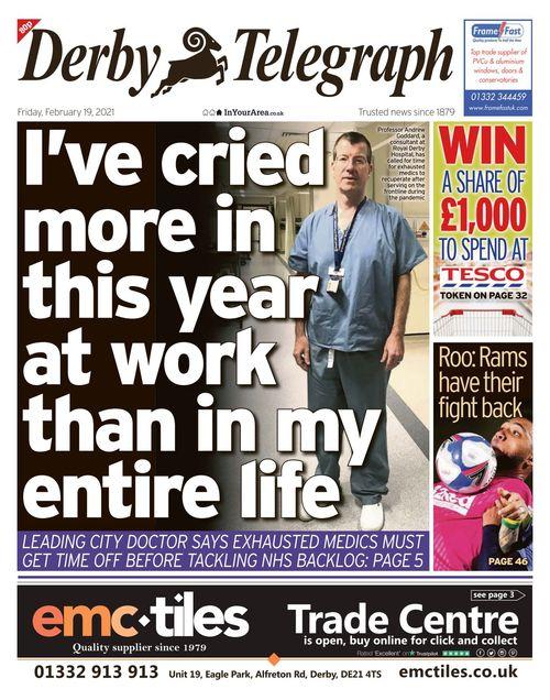Derby Telegraph 2021-02-19