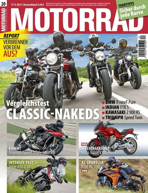 Motorrad Ausgabe 20/2021