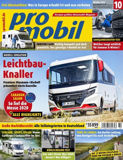 Promobil Ausgabe 10/2020