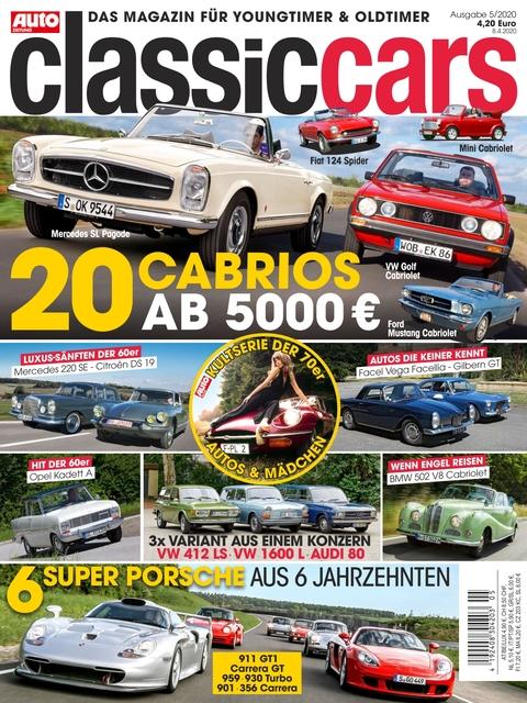 AUTO ZEITUNG classic cars Ausgabe 5/2020