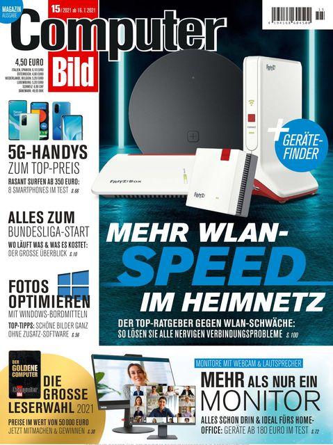 COMPUTER BILD Ausgabe 15/2021