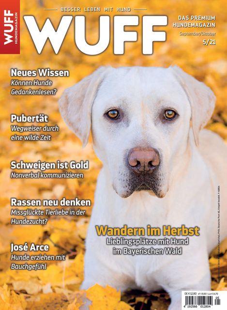 Hundemagazin WUFF Ausgabe 05/2021
