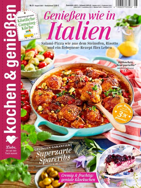 Kochen und Genießen Ausgabe 8/2021