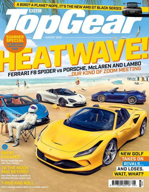 BBC Top Gear Magazine issue 08/2020