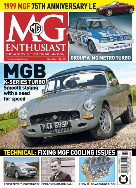 MG Enthusiast issue 03/2021