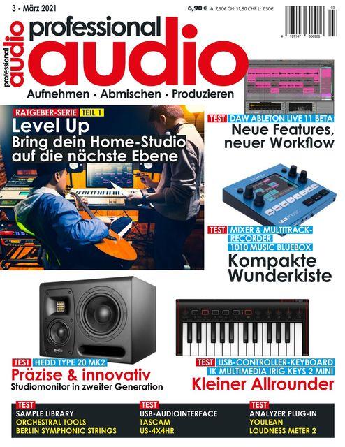 Professional audio Ausgabe 03/2021