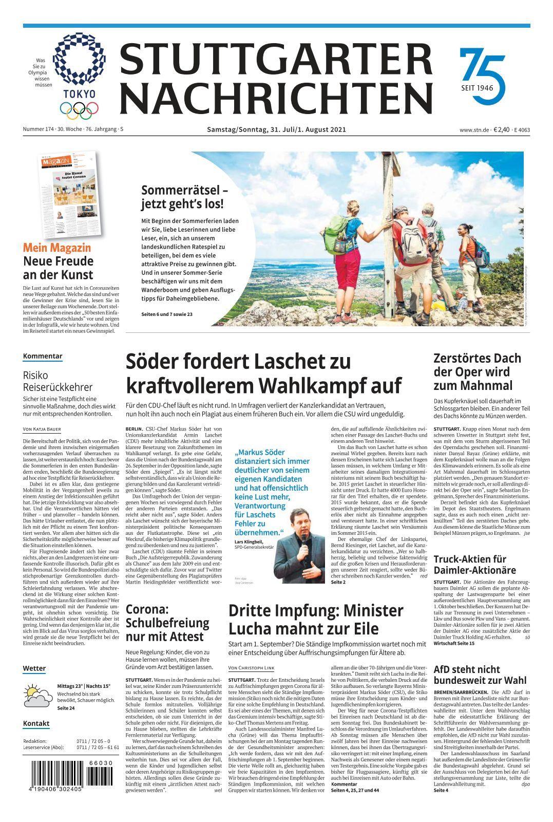 Stuttgarter Nachrichten   8 8 8