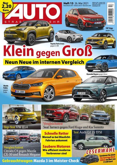 Auto Straßenverkehr 2021-05-25
