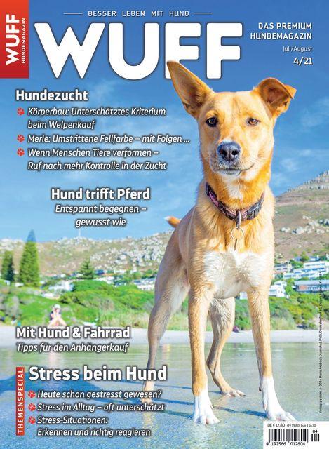 Hundemagazin WUFF Ausgabe 04/2021