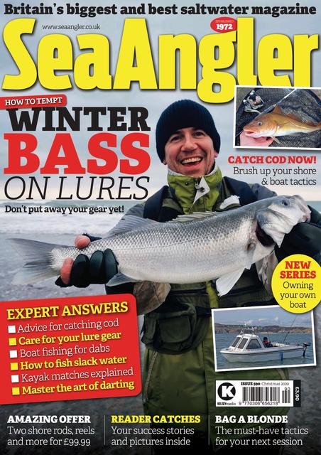 Sea Angler issue Christmas 2020