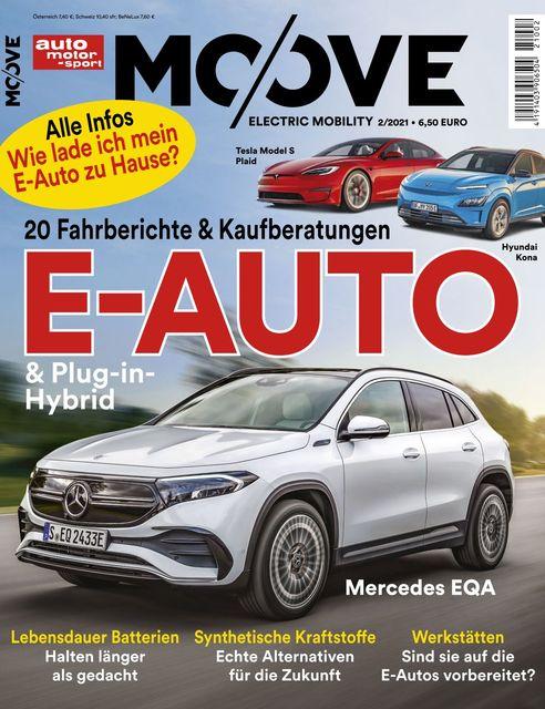 Auto Motor und Sport MOOVE Ausgabe 02/2021