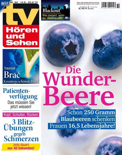 TV Hören und Sehen Ausgabe 32/2021