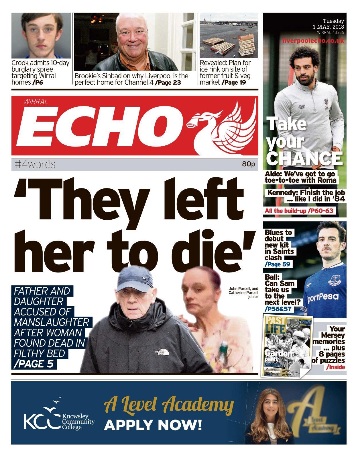 Liverpool Echo   8 8 8