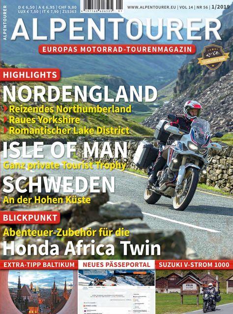 ALPENTOURER – Europas Motorrad-Tourenmagazin Ausgabe 01/2019