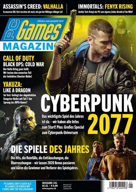 PC Games Ausgabe 01/2021